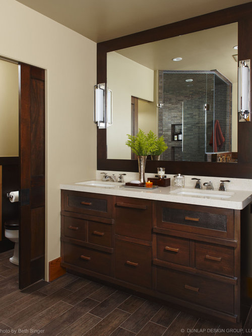 Dark Cabinets With Tile Floor | Houzz
