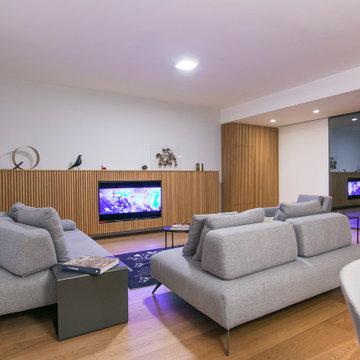 Interior design per un living