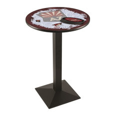 Arizona Coyotes Pub Table 36-inchx36-inch by Holland Bar Stool Company