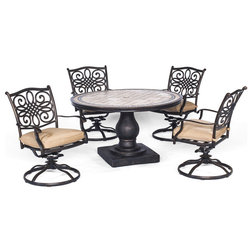 Mediterranean Outdoor Dining Sets by Almo Fulfillment Services