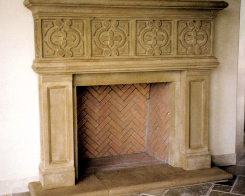 Stone Indoor Fireplaces cast stone fireplace mantels