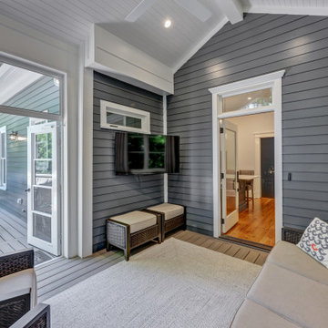 Inman Park Screened Porch and Kitchen