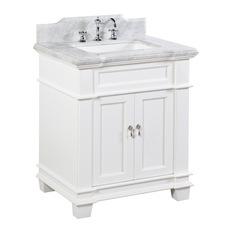 30 Inch White Bathroom VanitiesHouzz