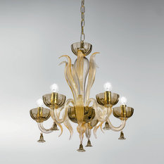 - Sylcom Edition 2014 chandeliers and wall lamps in blown glass by Topdomus - Lampadari