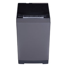 1.6-Cu. Ft. Compact Top-Load Washer, Stainless Steel