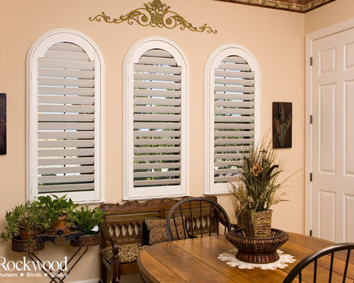 Plantation Shutters Arch Window Shutters