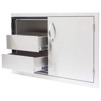 """Summerset Grills 36"""" Fully Enclosed Dry Storage Pantry/Door Combo"""