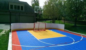 Sport Court Backyard Hockey