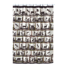 Rustic Montage Hautman Shower Curtain
