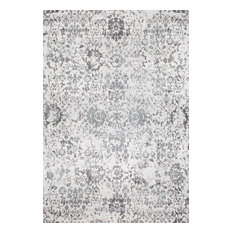 nuLOOM Transitional Cardinal Peony Vineyard Area Rug, Gray, 8'x10'
