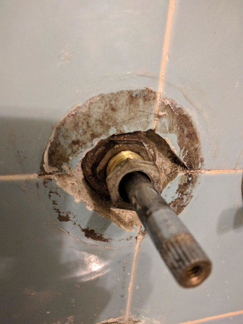 How To Remove Stuck Shower Diverter Stem