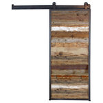 Dancing Grains Woodworks - Reclaimed Wood Barn Door - Single or double doors available in sliding or hinging style setups.
