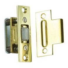 Charmant Baldwin Hardware   0430003 Roller Latch With Full Lip Strike, Lifetime  Brass   Pocket Door