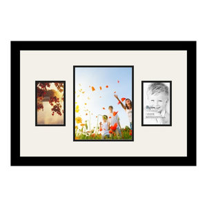 "Set 3 White Marble Effect Photo Picture Frames 4x6/"" 5x7 8x10/"" White Grey"