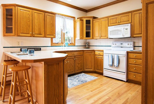 Removing Upper Cabinets, How To Remove Corner Kitchen Cabinet