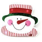 Tache Home Fashion - Tache Light Up Snowman Lighted Christmas Squishy Micro Bead Pillow - Lights aren't just for your Christmas tree, now you can add some twinkling color changing lights to the rest of your living room or bedroom! Featuring an adorable Christmas design, these cute glowing throw pillows light up and twinkle with colorful LED lights. Made to last, these pillows will quickly become a part of your yearly decorations. Great for all ages, kids or kid at heart!