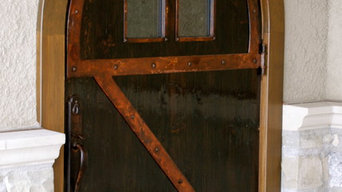 Door with Steel Strapping