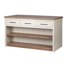 Solid Wood Kitchen Island Fairview II