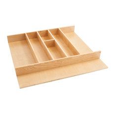 "24""Tall Wood Utility Tray Insert"