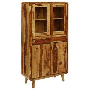 vidaXL Sheesham Wood Sideboard, 90x40x175 cm