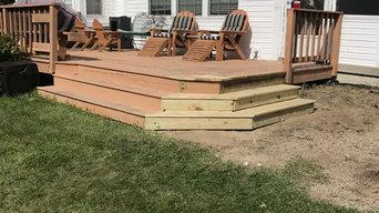 After-New Deck Steps