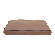 "Indoor/Outdoor Faux Gusset ""Jamison"", Tan, 42""x30""x4"""