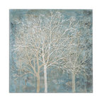 "Uttermost ""Muted Silhouette"" Canvas Art, 39.5""x39.5"""