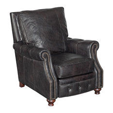 Old Saddle Black Recliner Chair