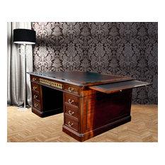 Large Antique Mahogany Desks