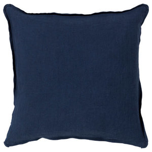Solid Decorative Pillow in Navy