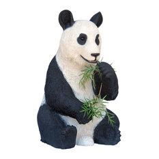Panda Bear Sitting  Statue 4.5' Life Size Prop Display