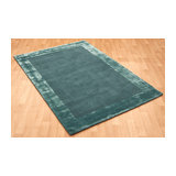Ascot Ascot Aqua Blue Rectangle Plain/Nearly Plain Rug 200x290cm