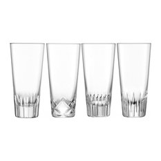 Tatra Highball Glasses, Set of 4
