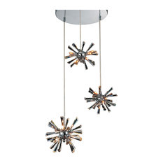 12-Light Chandelier with Chrome Finish