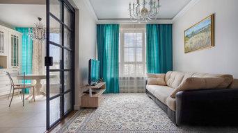 Ремонт квартиры 100 м² в ЖК Ривер Парк