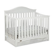 Graco Harbor Lights 4-in-1 Convertible Crib, White