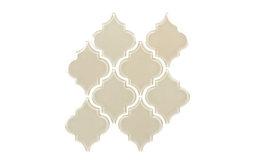 Sand Arabesque Glass Tile Mosaic