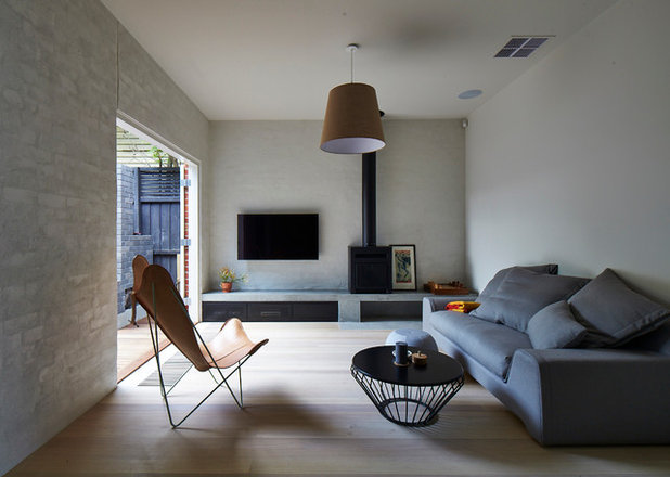 Contemporary Living Room by MAKE Architecture