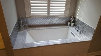H Gardner bath remodel