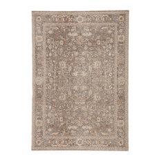 Jaipur Living Amaris Oriental Gray/Cream Area Rug, 6'x9'