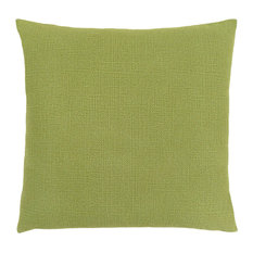 "18""x18"" Patterned Pillow, Lime Green, Single Pillow"