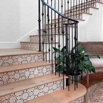 Long Beach Spanish Staircase