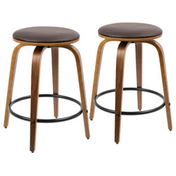 Midcentury Bar Stools And Counter Stools by u Buy Furniture, Inc