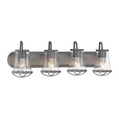 4 Light Bath Bar by Designers Fountain 87004-WI in Brown Finish
