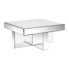 Statements By J   Lucy Mirrored Coffee Table   Coffee Tables