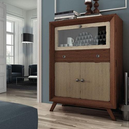 Muebles auxiliares aparadores vitrinas estilo vintage e - Muebles auxiliares vintage ...