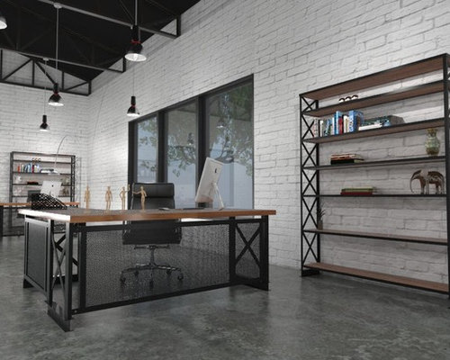 Industrial Loft Style Office Space : 1041665a060416868497 w500 h400 b0 p0 modern from www.houzz.com size 500 x 400 jpeg 38kB