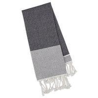 Design Imports Black Diamond Fouta Towel - Small