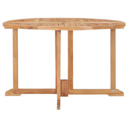 Transitional Outdoor Dining Tables by Chic Teak