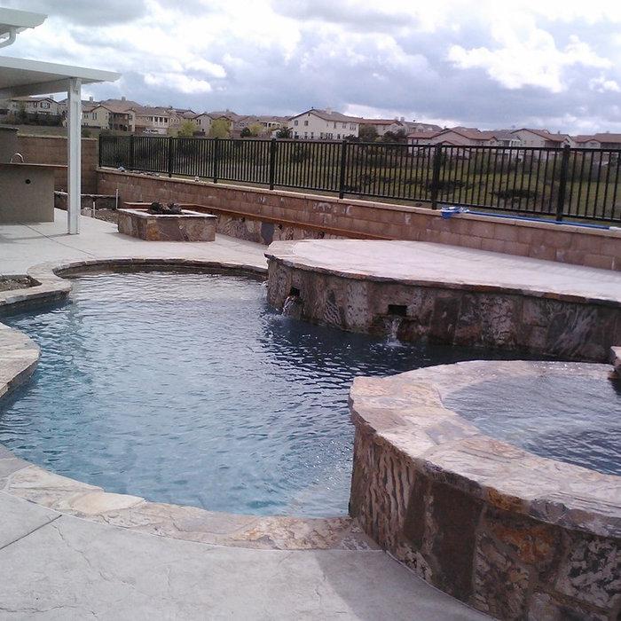 Rocklin Pool/Spa & Outdoor Kitchen
